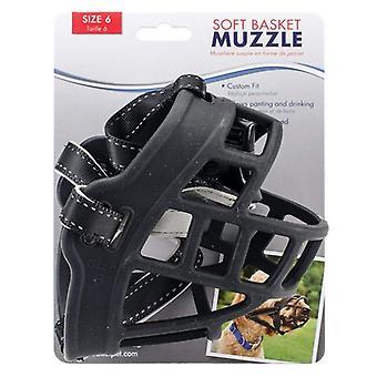 Coastal Pet Soft Basket Museau pour chiens Noir - Taille 6