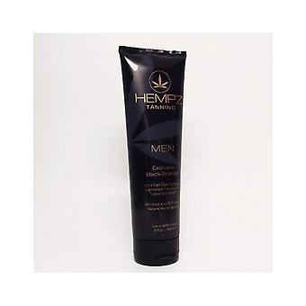 Hempz Men Exclusive Black Bronzer DHA Skin Tanning Hydrating Lotion - 265ml