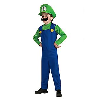 Kids Mario Costume, Mario Halloween Costume For Christmas Party Cosplay