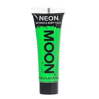 Moon Glow - 12ml Neon UV Face & Body Paint - Intense Green