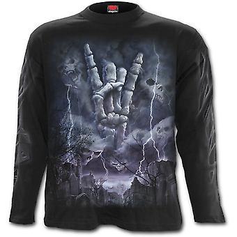 Spiral-rock Eternal-mäns långärmad t-shirt.