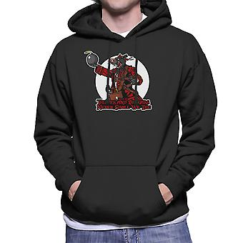 Rata Pirata Rat Pirate Men's Hooded Sweatshirt