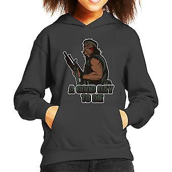 Predator A Good Day To Die Kid's Hooded Sweatshirt