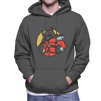 Rechtmatig kwaad M Bison Rhino Street Fighter mannen de Hooded Sweatshirt