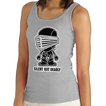 Lil Snake Eyes Silent But Deadly GI Joe Women's Vest