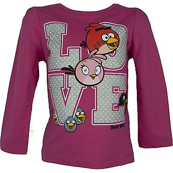 Angry Birds Girls Long Sleeve Top