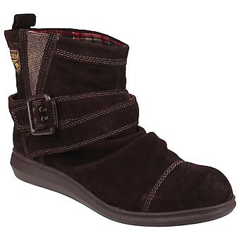 Rocket Dog Womens Mint Pull On Boot Tribal Brown