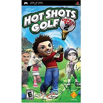 Hot Shots Golf Open Tee 2 PSP Game