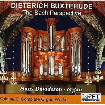 D. Buxtehude - Buxtehude: Complete Organ Works, Vol. 2 - the Bach Perspective [CD] USA import