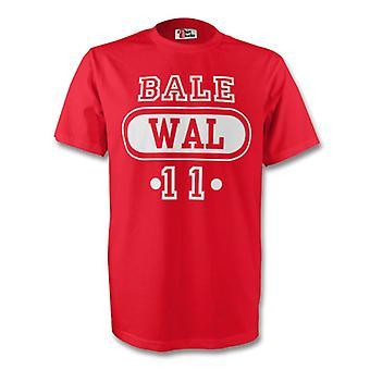Gareth Bale Wales Wal-T-Shirt (rot) - Kids