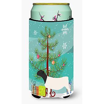 Dorper Sheep Christmas Tall Boy Beverage Insulator Hugger