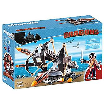 Special Buy Playmobil 9249 Dragons with 4 Shot Firing Catapult