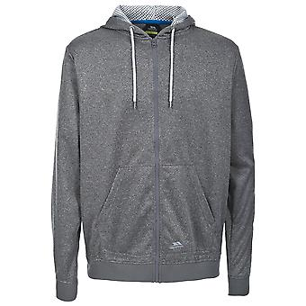 Trespass Mens Goodman Full Zip Hooded Fleece Jacket