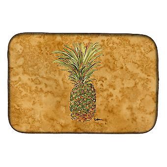 Carolines Treasures  8654DDM Pineapple Dish Drying Mat