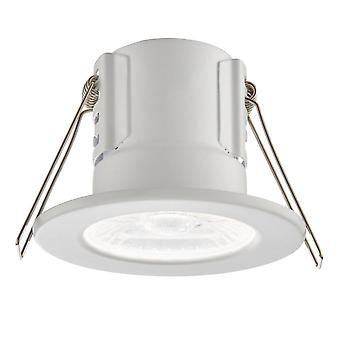 Saxby escudo Eco 500 IP65 4000K de 4W regulable LED Downlight de la iluminación en blanco