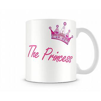 Принцесса печатных кружка