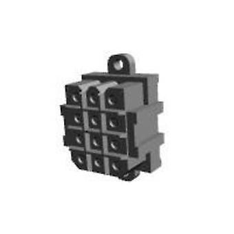 TE Connectivity Socket kabinet - PCB Metrimate samlede antal stifter 12 kontakt afstand: 5 mm 207528-7 1 computer(e)