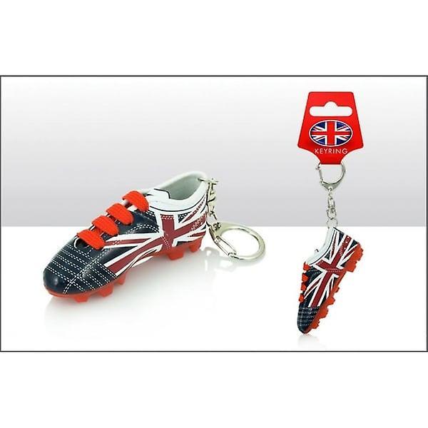 Union Jack Wear Union Jack Football Boot Keyring