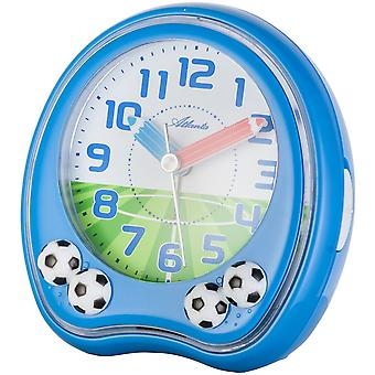 Atlanta alarm clock quartz football rising creeping second alarm