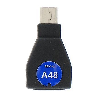 iGo A48 opladen Tip voor Creative Zen, Dell Pocket DJ (zwart) - TP00648-0008