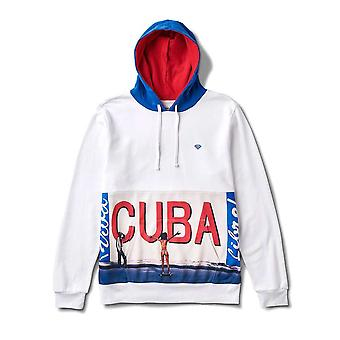 Diamond Supply Co. Cuba Hoodie blanc