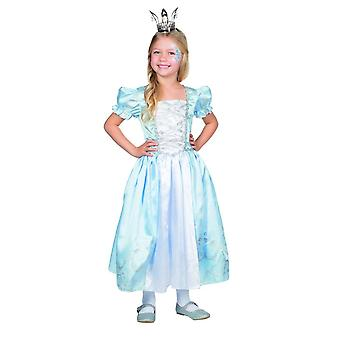 Princess Lilly dress costume kids Lady Carnival Castle of medieval Queen