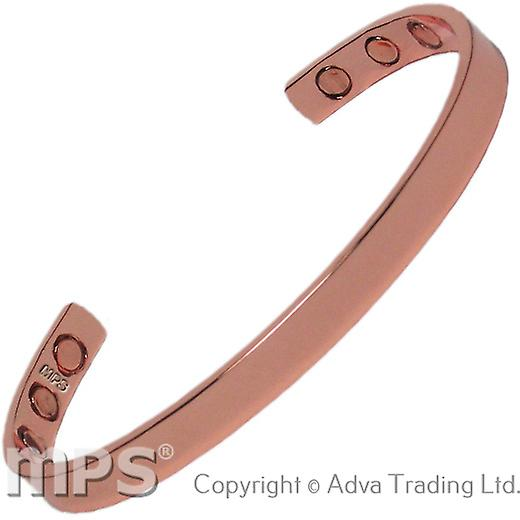 MPS® ARDEN Pure Copper Magnetic Bangle with 6 Magnets with Luxury Gift Pouch