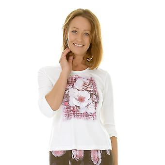 EUGEN KLEIN T-Shirt 9267 04 82702 Ivory With Pink