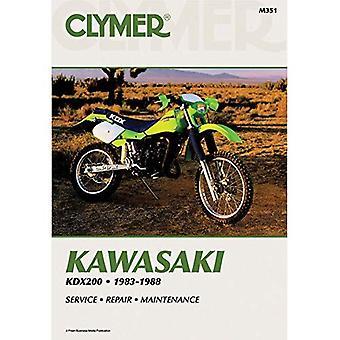 Kawasaki KDX200 1983-88: Clymer Workshop Manual (Carolina Biology Readers; 103)