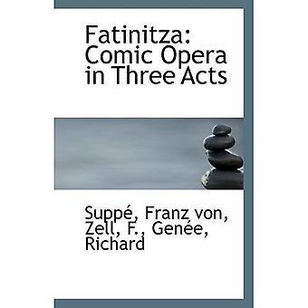 Fatinitza: komisk Opera i tre akter