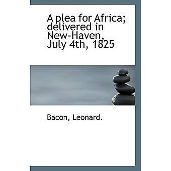 En bønn om Afrika; leveres i New Haven, 4 juli 1825