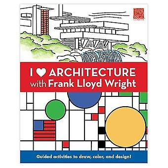 I Heart Architecture with Frank Llyod Wright Activity� Book