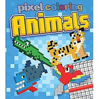 Pixel färg: djur