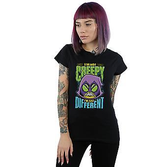 DC Comics kobiety Teen Titans przejść Creepy T-Shirt Kruk