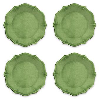 Epicurean Set van 4 Amazon groene Melamine zijplaten