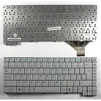 TsingHua Tongfang 71-U29082-01 Grey UK Layout Replacement Laptop Keyboard