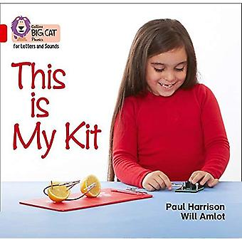 Collins Big Cat Phonics for Letters and Sounds-This Is My Kit: Band 2A/Red A (Collins Big Cat Phonics for Letters and Sounds)