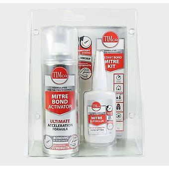 TimCo Instant Bond Mitre kit 200 ml/50 g