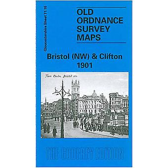 Bristol (NW) & Clifton 1901 - Gloucestershire Sheet 71.16 by Alan
