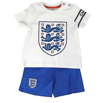 England F.A. T Shirt & Short Set 12-18 months