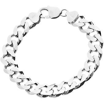 925 sølv dempe kjeden armbånd - DEMPE 11 mm