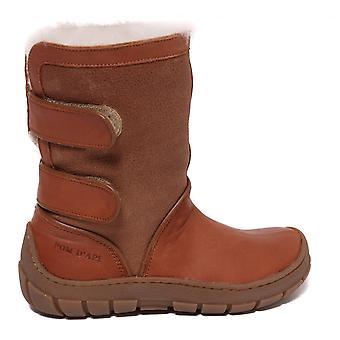 Pom D'Api Piwi Chabraque Boot, Camel/White