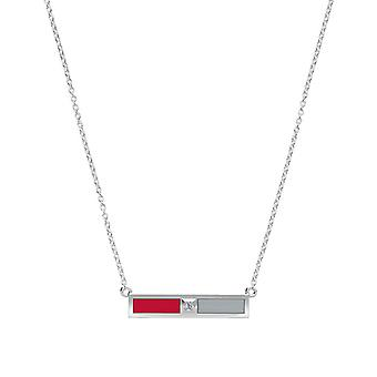 The Ohio State University Diamond Pendant Necklace In Sterling Silver Design by BIXLER