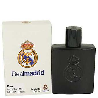 Real Madrid Black by Air val International Eau de Toilette Spray 3,4 oz (mannen) V728-535581