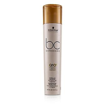 Schwarzkopf BC Bonacure Q10+ Time Restore Micellar Shampoo (For Mature and Fragile Hair) 250ml/8.5oz