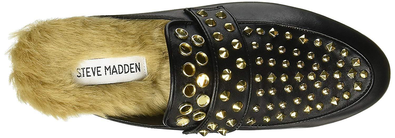Steve Madden kvinners Jordan Leather lukket tå muldyr