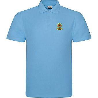 15th 19th Royal Kings Hussars farve-licenseret British Army broderet RTX Polo
