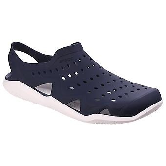 Crocs Mens Swiftwater Wave Navy/White