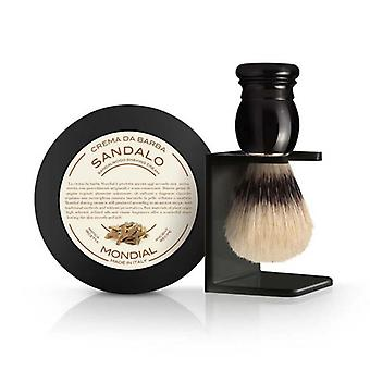 Antica Barberia Mens Shaving Gift Set 3Pcs Sandalwood