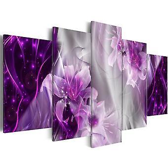 Artgeist Tableau Sur Verre Acrylique Purple Utopia Glass